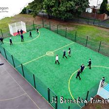 St Barnabas's Primary's Multi Use Games Area